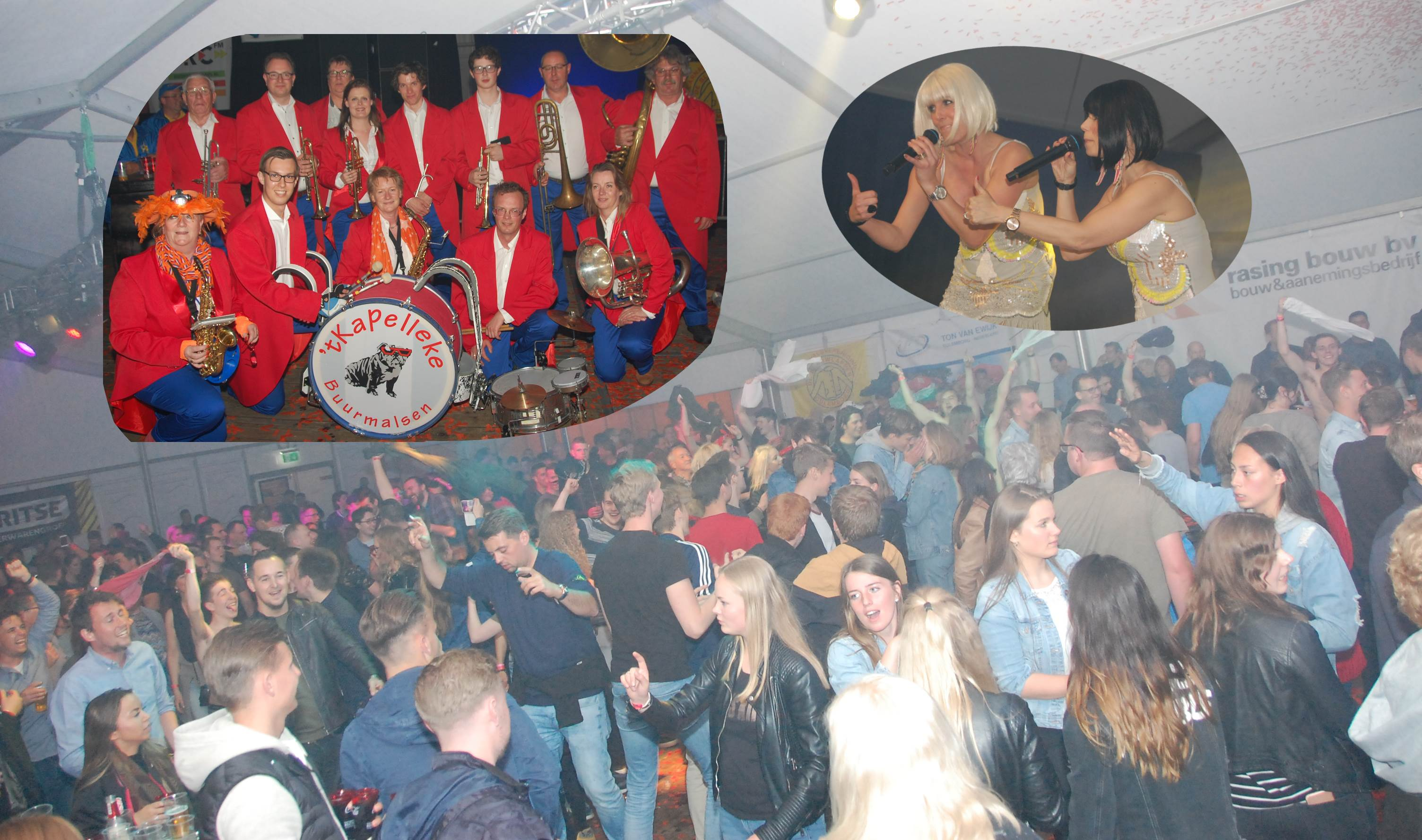 Collage: Blaaskapellenfestival Culemborg 700