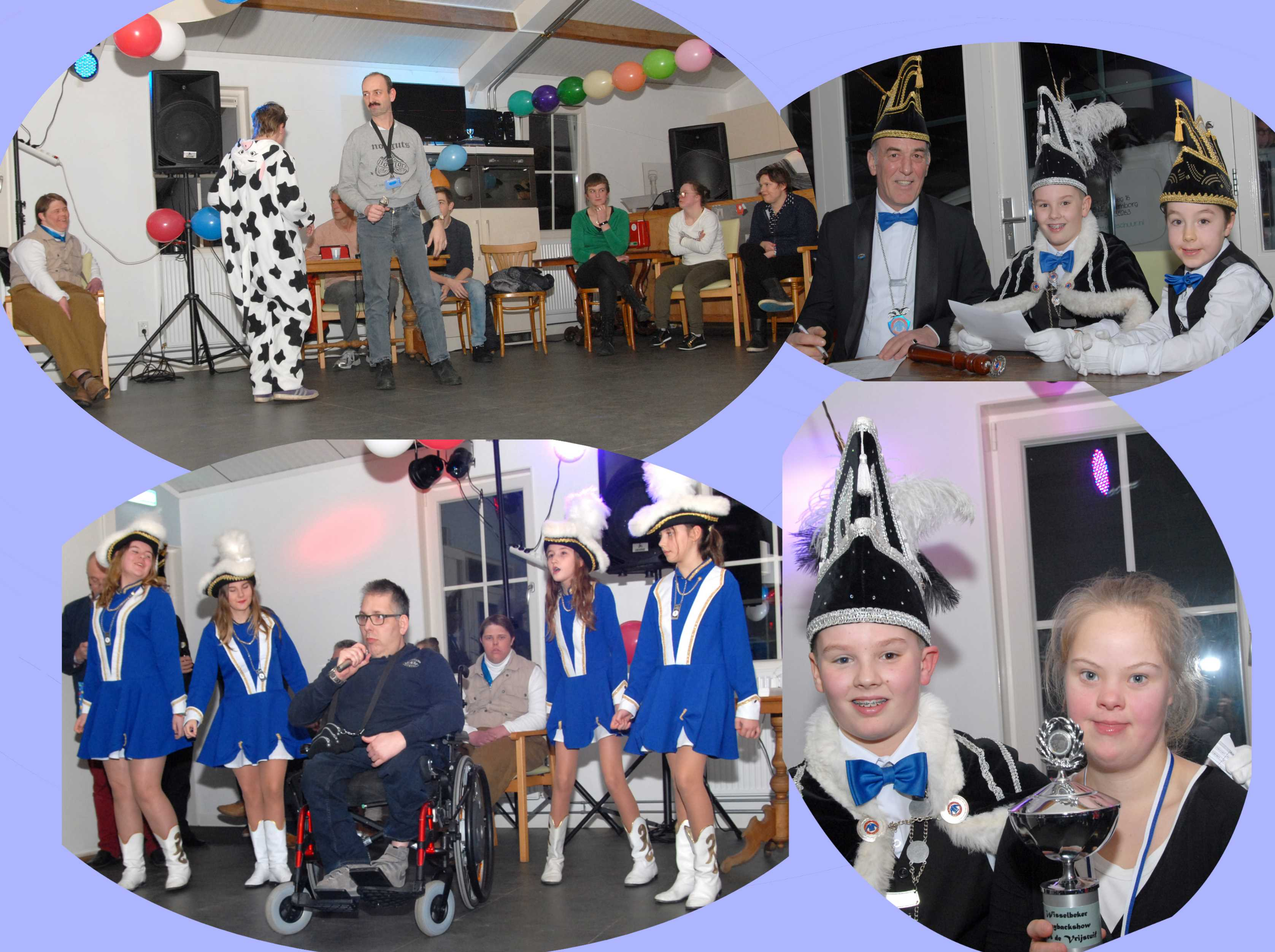 Collage: Voorronde Playbackshow 2018